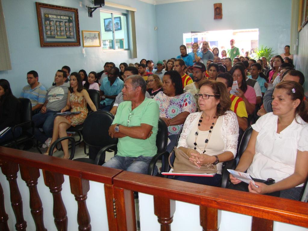 Representantes do SIMPROBAC e do SINSEB participaram da Sessão Ordinária na Câmara de Vereadores de Barra do Choça