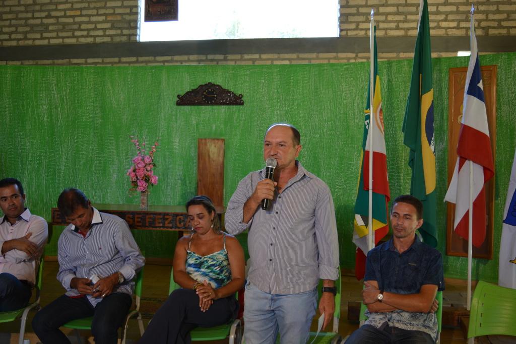 Representantes da Câmara Municipal participaram da abertura da Jornada Pedagógica de Barra do Choça